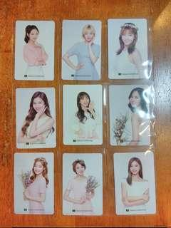 Twice Photocard: Nature Collections
