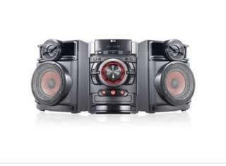 Lg  mini hi fi / surround sound