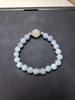 海藍寶+拉長石