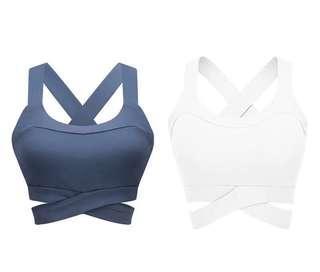 Sports bra female shockproof running yoga bra professional sports bra