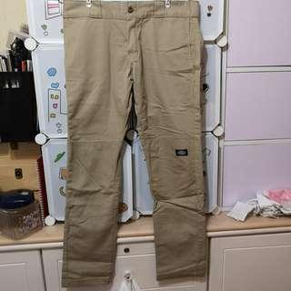 Dickies stone skinny chino pants 卡其色長褲