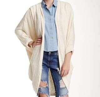 American Apparel Oversized Cardigan