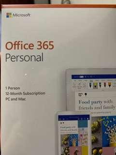 Microsoft Office 365 Personal (SEALED)