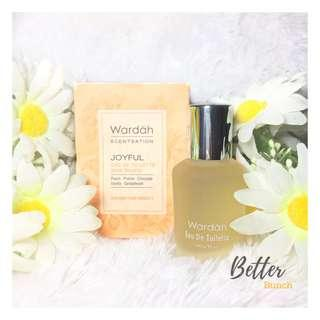 Wardah Eau De Toilette joyfull parfum wardah murah