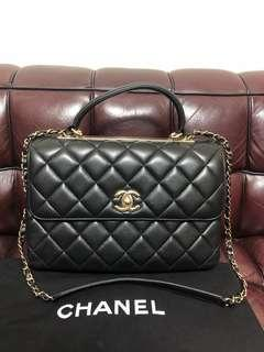 Chanel coco handle bag used 90%new
