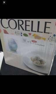 🚚 Corelle winter frost design 18 plus 1