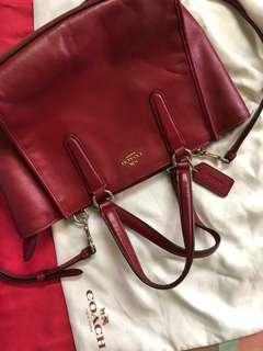 Authentic Coach Mini Crosby Bag