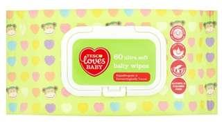 Tesco Fred & Flo baby wipes