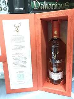 Glenfiddich 21 Years Whisky