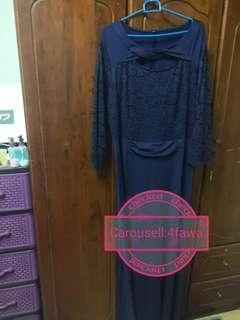 Lace plus size dress 44-46