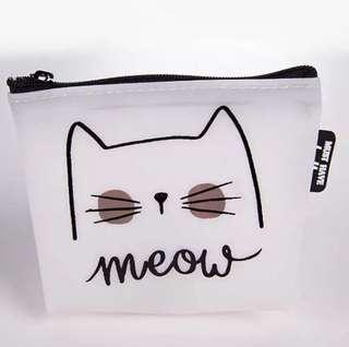 [AVAILABLE] Meow Jelly Purse - Design 1