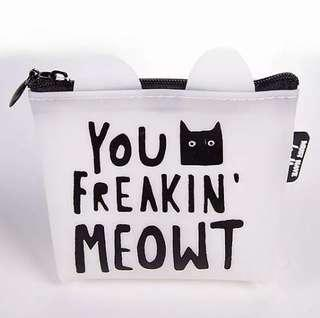 [AVAILABLE] Meow Jelly Purse - Design 2