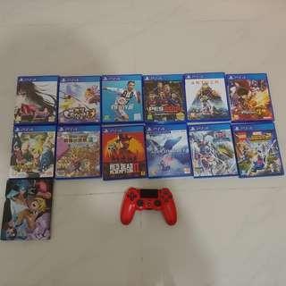 PS4 GAMES 全中文版 + 手制