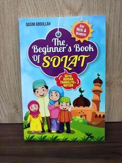 The Beginners Book of Solat For Men & Women With Roman Transliteration (RUMI)