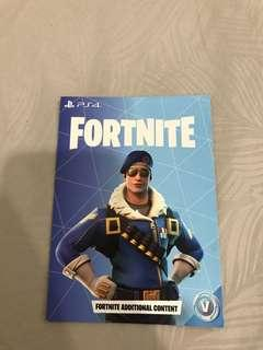 PS4 Fortnite bundle