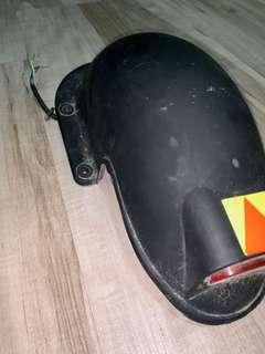 Speedway 3 Rear Mudguard With Light