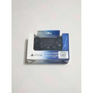 [完整盒裝]PS4黑色原廠無線遙桿-2代