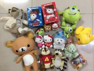 Soft Toys from rm1 to rm20