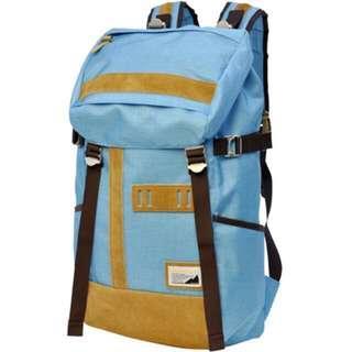 🚚 🇯🇵MSPC master-piece OVER ver.5 No.03456-v5 (SAX馬卡龍藍 水藍色) 大容量後背包