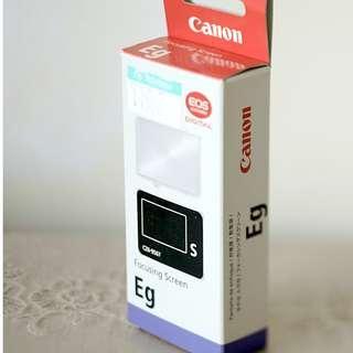 Canon Eg-S 超精度磨砂對焦屏