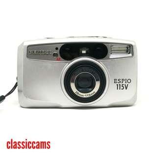 (RESERVED) Fri - Pentax Espio 115V 35mm Film Camera
