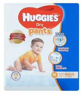 🚚 Huggies diapers