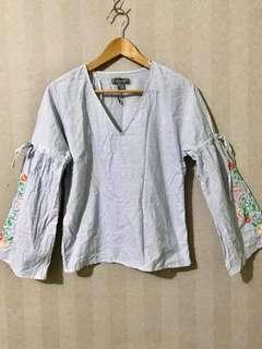 Primark embroidery top