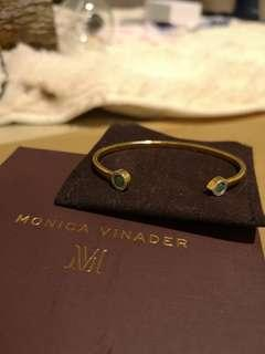 Monica vinader 金色手鐲