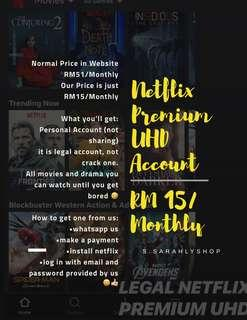 netflix account | Gift Cards & Vouchers | Carousell Malaysia