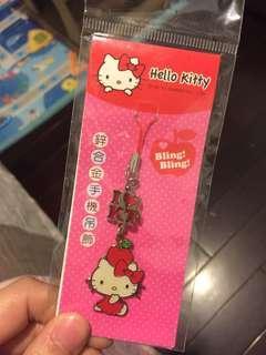 Kitty 手機吊飾