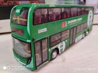 巴士模型 968 殘車 平賣