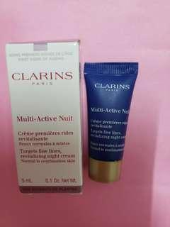 Clarins Multi-Active Nuit Night Cream 多元活膚晚霜