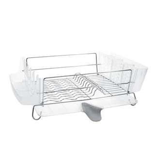 OXO Good Grips Folding Stainless Steel Dish Rack, Used, Complete Set