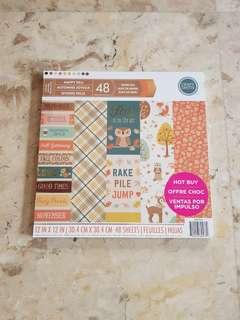 Craft Smith 12×12 Paper Pad in Happy Fall