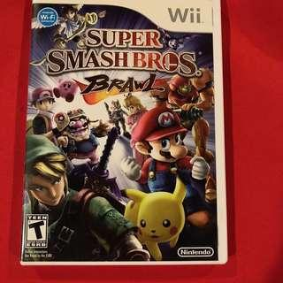 Super Smash Bros. BRAWL wii video games