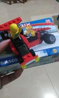 Lego mobil bisa jalan