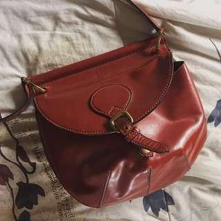 Charles & Keith Leather Sling Bag