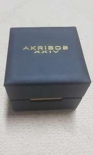 Akribos XXIV Men's Gold Watch