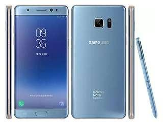 🚚 Mint Condition Samsung Note FE 64gb Coral Blue