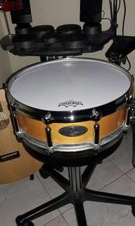 PEARL FREE FLOATING SYSTEM SNARE DRUM