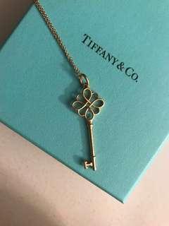 Tiffany & Co. Knot Key Pendant 18k Gold