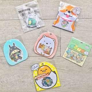 🚚 Stationery Grab Bag #23 🌈 Bujo Sticker Flakes Grab Bag