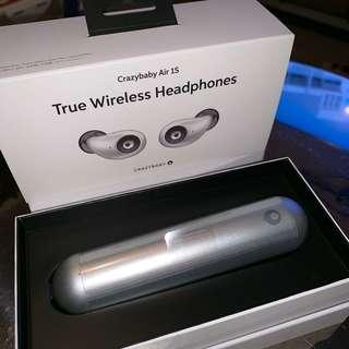 True Wireless (Bluetooth) Headphones - Crazybaby Air 1S 原裝行貨
