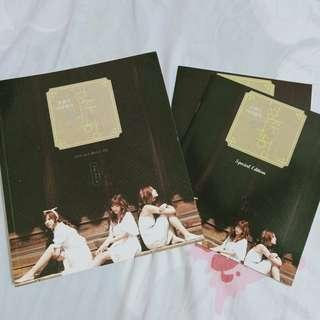 Orange Caramel Youth Journey Official Photo Essay Book