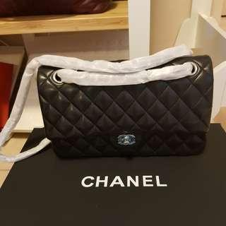 Chanel in lamb leather