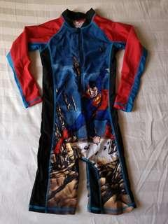 Superman rash guard