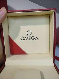 OMEGA  瑞士歐米茄®腕表盒 名錶盒 有卡片 watch box