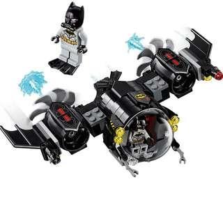 🚚 Lego 76116 DC Batsub & Batman Minifigure