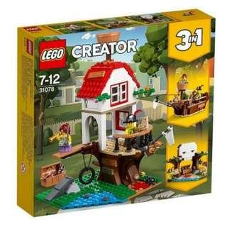 Lego 31078 Creator 3-in-1 Treehouse Treasures