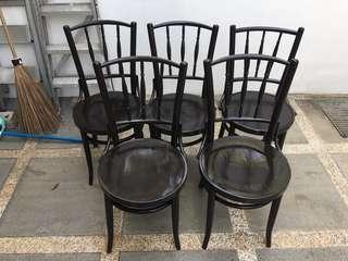 🚚 Vintage Cock Brand Kopitiam chairs